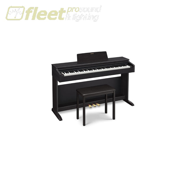 Casio Ap-270Bk - Celviano 88 Key Digital Piano W/ Cabinet Bench & Pedals Black Digital Pianos