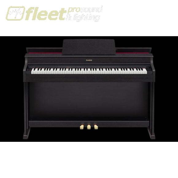Casio Ap-470Bk - Celviano 88 Key Digital Piano W/ Cabinet & Bench Black Digital Pianos