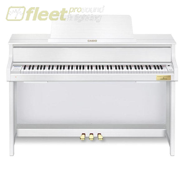 Casio Celviano GP-300WE Grand Hybrid Digital Piano - Matte White Wood Finish DIGITAL PIANOS