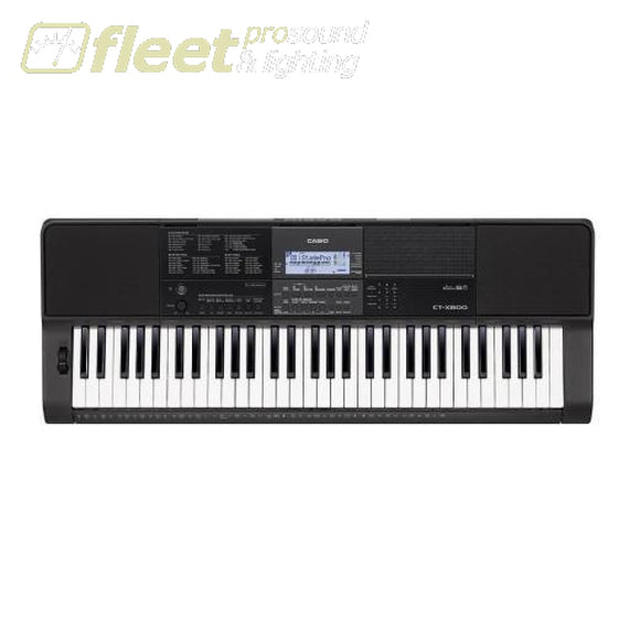 Casio CTK800 61-Key Portable Keyboard - Touch Sensitive w/ Pitch Bend KEYBOARDS & SYNTHESIZERS