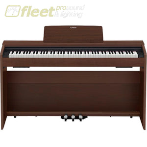 Casio PX870BN Privia 88-Key Digital Piano - Brown w/ Cabinet Stand & Pedals DIGITAL PIANOS