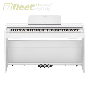 Casio PX870WE Privia 88-Key Digital Piano - White w/ Cabinet Stand & Pedals DIGITAL PIANOS