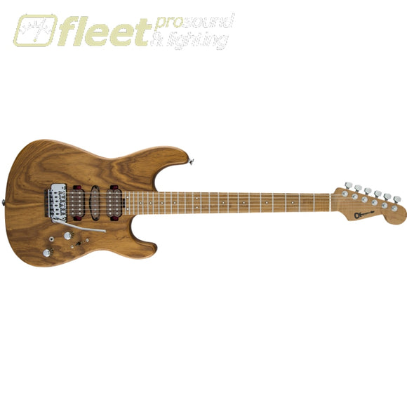 Charvel 2865434700 Guthrie Govan Signature HSH Caramelized Flame Maple FingerboardGuitar - Natural SOLID BODY GUITARS