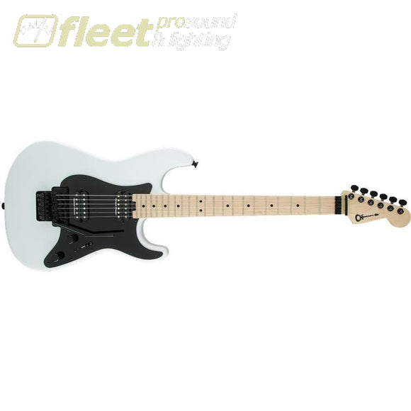 Charvel Pro Mod So-Cal Style 1 Hh Fr - Snow White Locking Tremelo Guitars