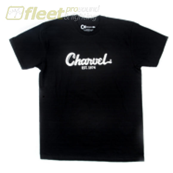 Charvel Toothpaste Logo T-Shirt Ex-Large - Black Clothing