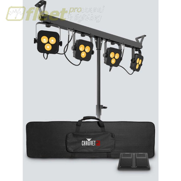 Chauvet 4BAR-QUAD-LT-BT Wash Lighting System with Bluetooth STAGE LIGHT PACKAGES