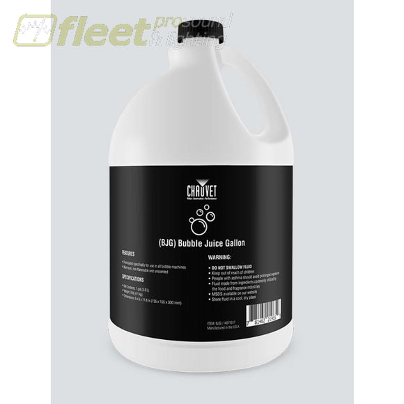 Chauvet BJG 1 Gallon of Bubble Fluid for HURRICANE-BUBBLE-HAZE & other Chauvet Haze Machines BUBBLES