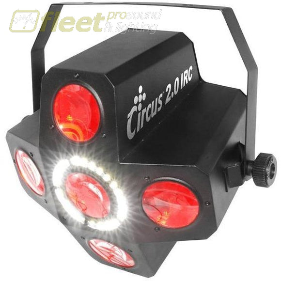 Chauvet CIRCUS 2.0 IRC Effect Light with Red Green Blue White and Amber LEDs LED DJ EFFECTS