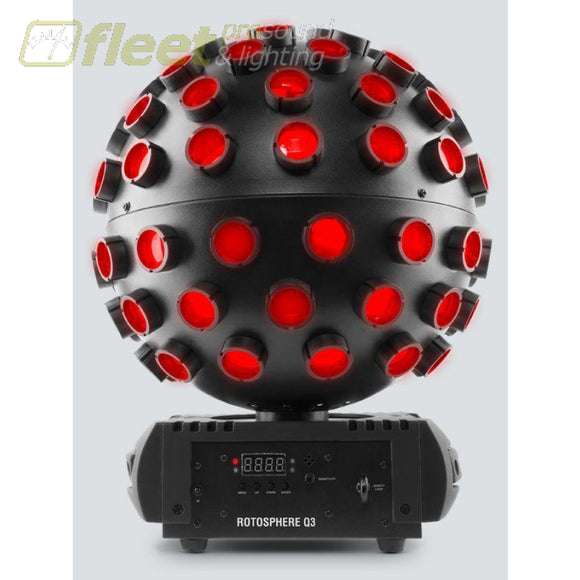 Chauvet DJ RotosphereQ3 Mirror Ball Simulator with RGBW LEDs LED DJ EFFECTS