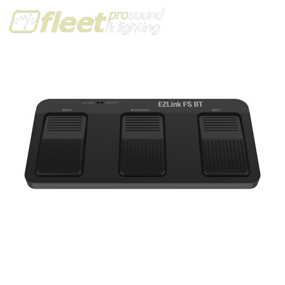 Chauvet EZLINK-FS-BT Battery-Powered Footswitch w/ Built-in Bluetooth FOOT SWITCHES