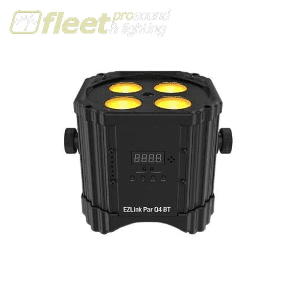 Chauvet EZLINK-PAR-Q4-BT Battery-Operated LED Par Light w/ Bluetooth LED PAR CANS