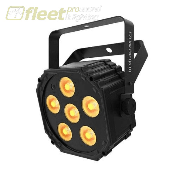Chauvet EZLINK-PAR-Q6-BT Battery-Operated LED Par Light w/ Bluetooth LED PAR CANS