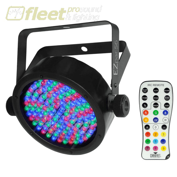 Chauvet EZPAR56 LED Wsh Light 108 x 0.25 Watt LED PAR CANS
