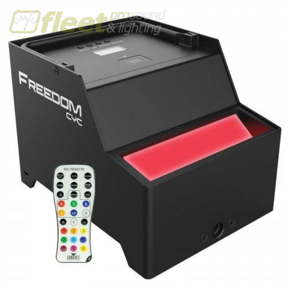 Chauvet FREEDOM-CYC Battery Operated LED Wireless CYC LED PAR CANS