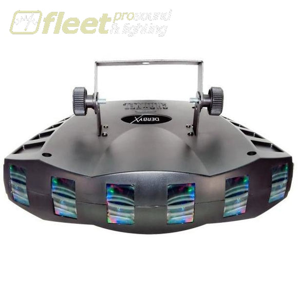 Chauvet Led Derby X Lighting Effect With 15 Beams Of Colourful Light Led Dj Effects