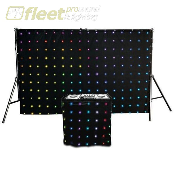 Chauvet Set Including Both The Motion Drape Led And Motion Façad Backdrops