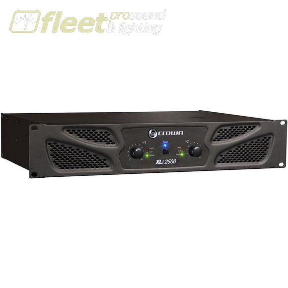 Crown Xli2500 Power Amplifier Amplifiers-Professional