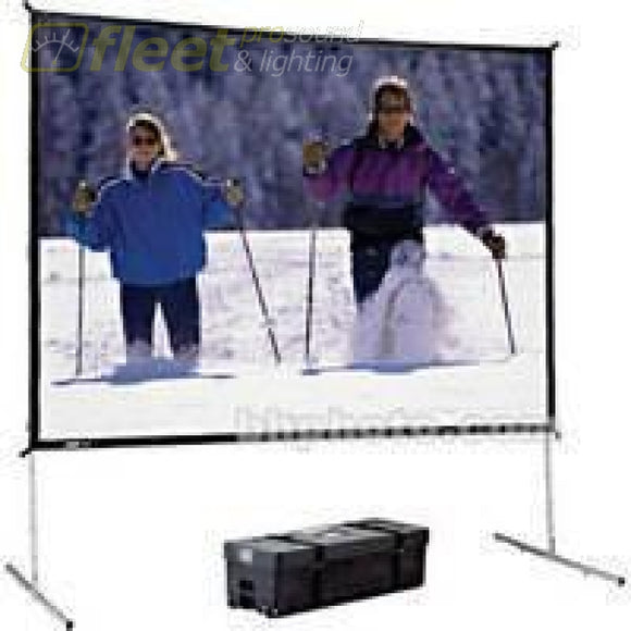 Da-Lite 88633 6 X 8 Fastfold Deluxe Kit With Rear Surface Screens - Video