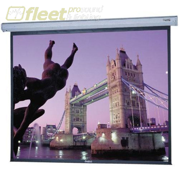 Da-Lite 96391L 9 X 16 Cosmopolitan Electric Screen With Low Voltage Wall Control Screens - Video