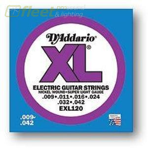 Daddario Guitar Strings - Exl120 Guitar Strings