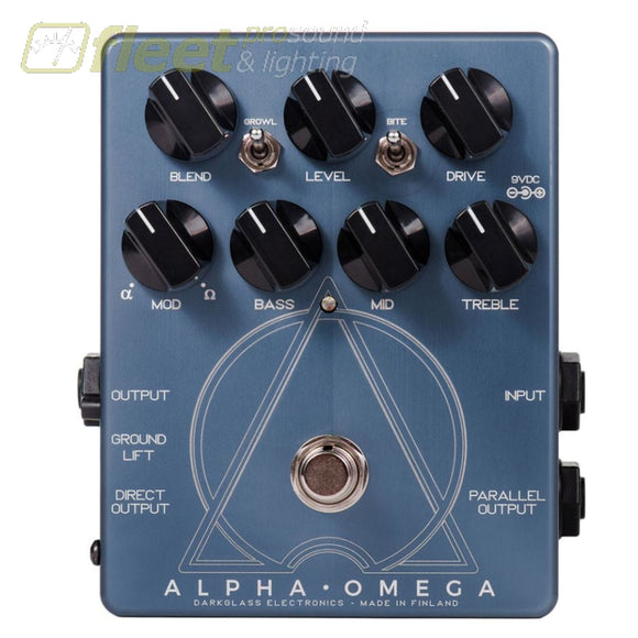 DarkGlass ALPHA-OMEGA Preamp BASS PREAMPS