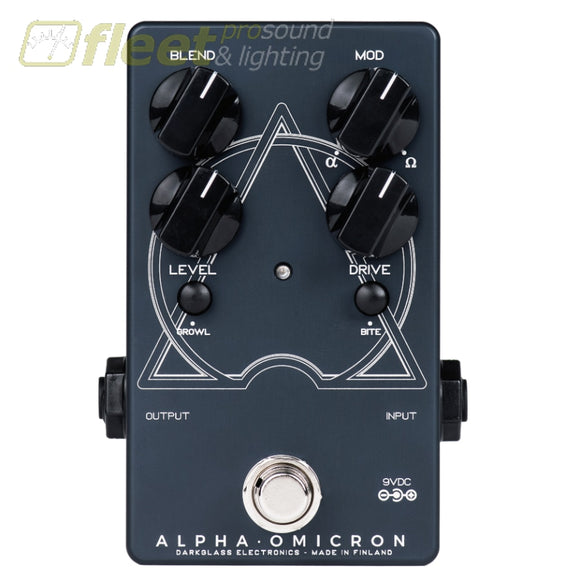 DarkGlass ALPHA-OMICRON Preamp BASS PREAMPS