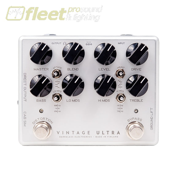DarkGlass Vintage Ultra 2.0 Virtual Cabinet BASS MULTI FX PEDALS