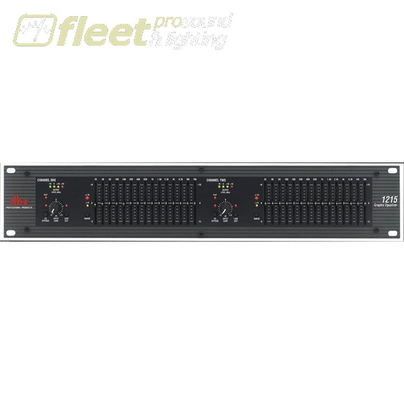 Dbx Dual 15 Band Equalizer Equalizers