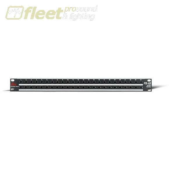 Dbx Pb48 Patch Bay Patch Bays