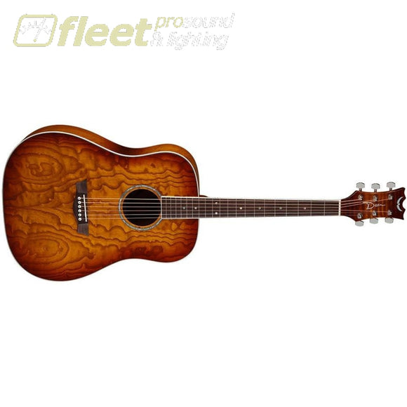 Dean AXDQATSB Acoustic Guitar AXS Quilted Ash Tobacco Sunburst - comes AS IS slight DAMAGE 6 STRING ACOUSTIC WITHOUT ELECTRONICS