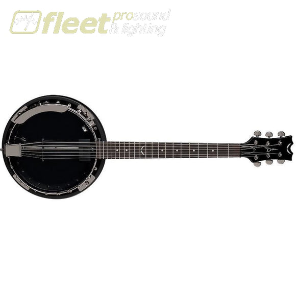 Dean Backwoods 6 Banjo W/pickup Black Chrome Banjos