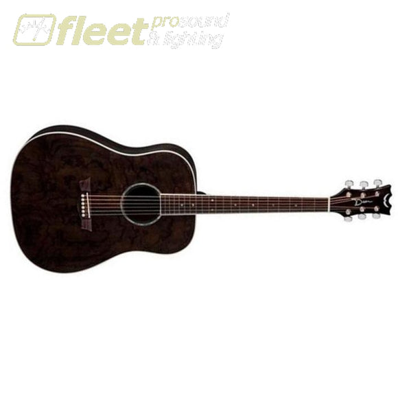 Dean Guitars AX DQA TBK - SLIGHTLY DAMAGED COMES AS IS 6 STRING ACOUSTIC WITH ELECTRONICS