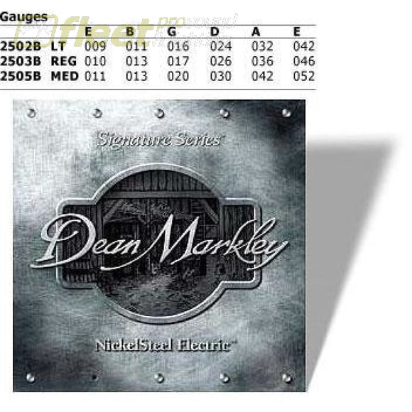 Dean Markley Dm2503 Electric Guitar Strings Guitar Strings