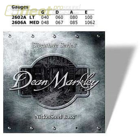 Dean Markley Electric Bass Strings Bass Strings