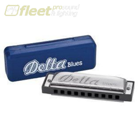 Delta Blues Hd10A A Harp With Case Harmonicas