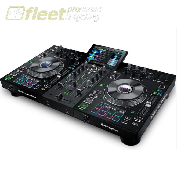 Denon DJ PRIME2 2-DECK STANDALONE DJ SYSTEM DJ INTERFACES