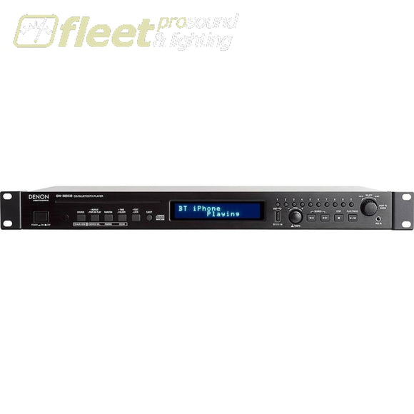 Denon Dn-500Cb Cd/usb/bluetooth Player With Remote Tuners Am Fm