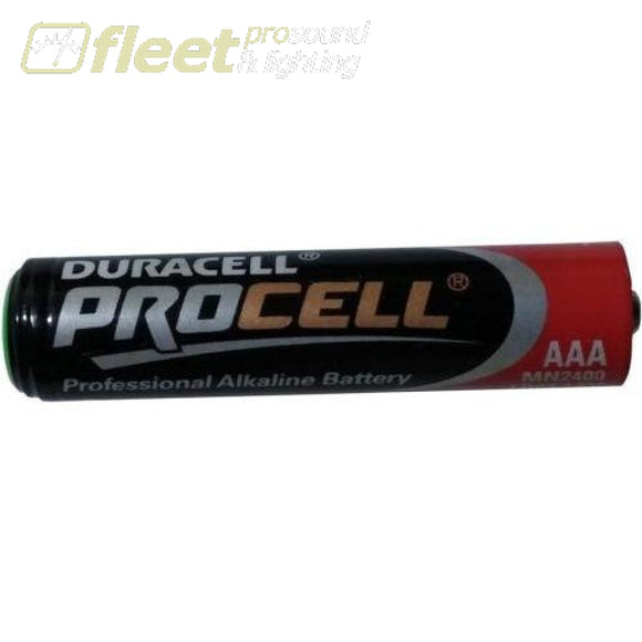 Duracell PC2400 AAA-Cell Procell Battery Box of 24 Batteries BATTERIES