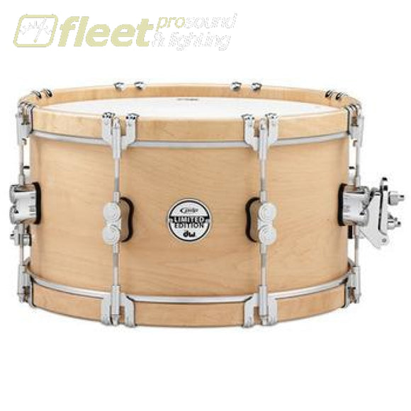 Dw Drums Pdsx0714Clwh Classic Wood Hoop Snare With Clamp Hooks Snares