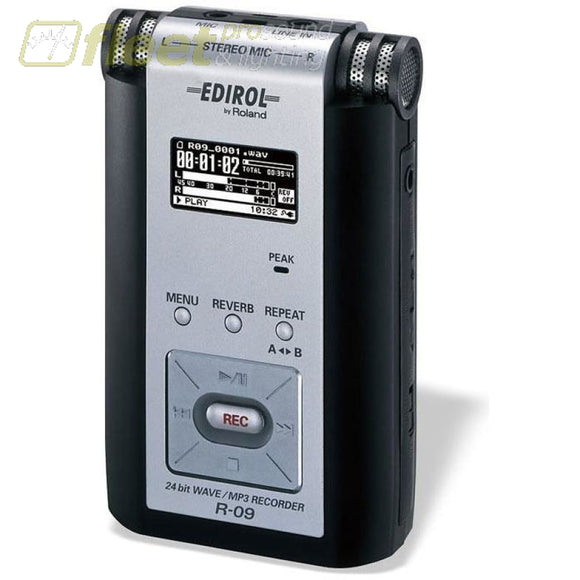 Edirol R09 Mp3 Recorder PORTABLE RECORDERS