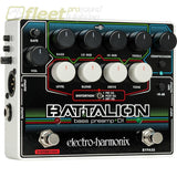 Electro-Harmonix Battalion Bass Preamp And Di Pedal Bass Fx Pedals