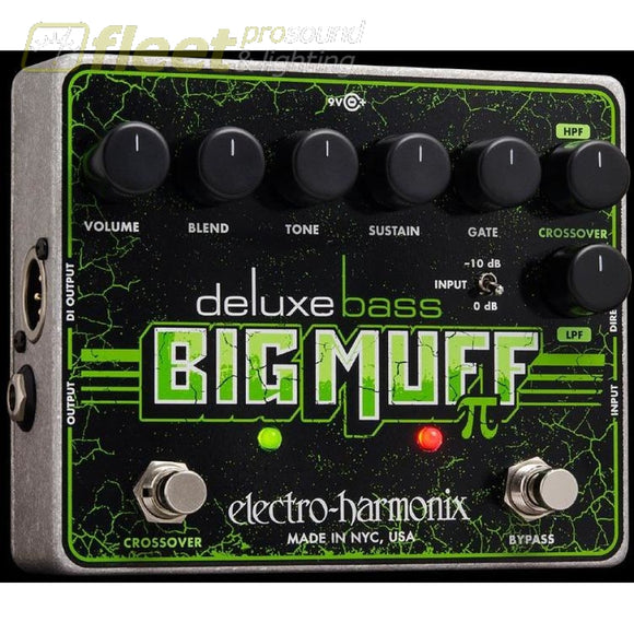 Electro Harmonix Deluxe Bass Big Muff Pi Bass Fx Pedals