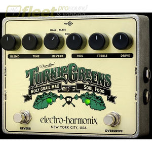Electro Harmonix Turnip Greens Multi-Fx Pedal Guitar Distortion Pedals