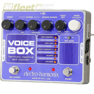 Electro Harmonix Voice Harmony Effect Pedal Effects Processors