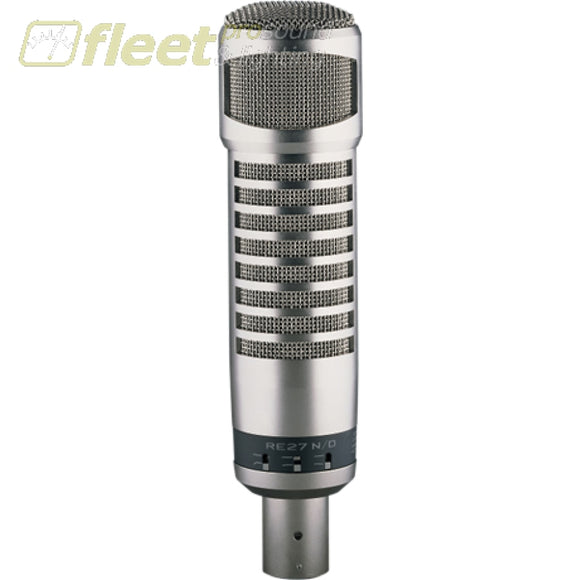 Electro-Voice RE27N/D Broadcast Announcer Microphone w/ variable‑d & n/dym cap LARGE DIAPHRAGM MICS