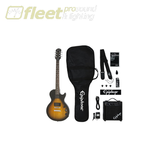 Epiphone ELPJ-VSCHPP Les Paul Player Pack - Vintage Sunburst ELECTRIC GUITAR STARTER PACKS