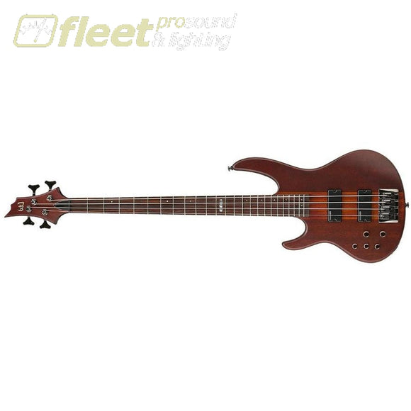 Esp D-4Ns Left Handed Bass Guitar Natural Satin Left Handed Bass Guitars