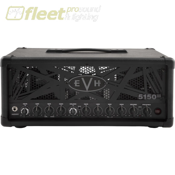 EVH 5150III 50S 6L6 120 Volt Amp Head - Black (2253070000) GUITAR AMP HEADS