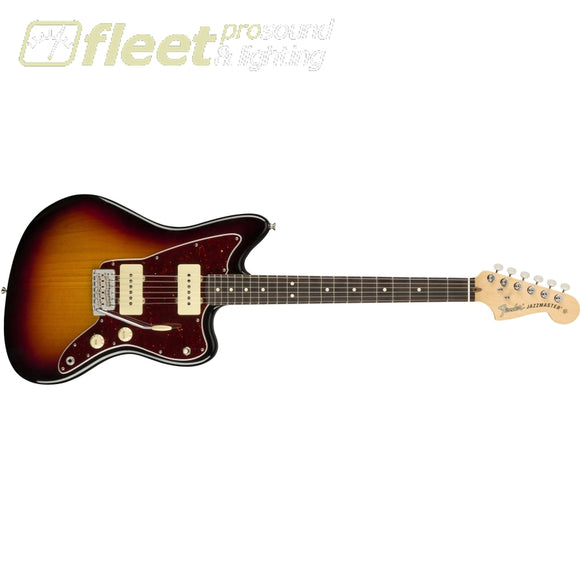 Fender 0115210300 American Performer Jazzmaster® Rosewood Fingerboard 3-Color Sunburst Solid Body Guitars