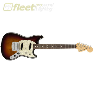 Fender 0115510300 American Performer Mustang Rosewood Fingerboard 3-Color Sunburst Solid Body Guitars